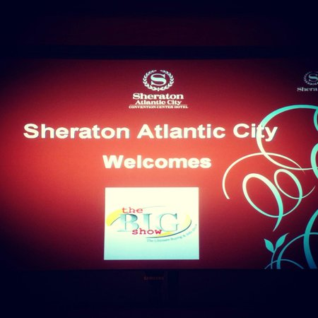Sheraton Atlantic City Convention Center:                                     Main lobby