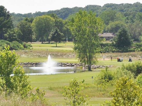 New London, WI:                   A View at Shamrock Heights Golf Course