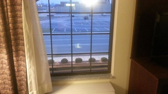 Staybridge Suites Indianapolis - City Centre: View of street from room (210)