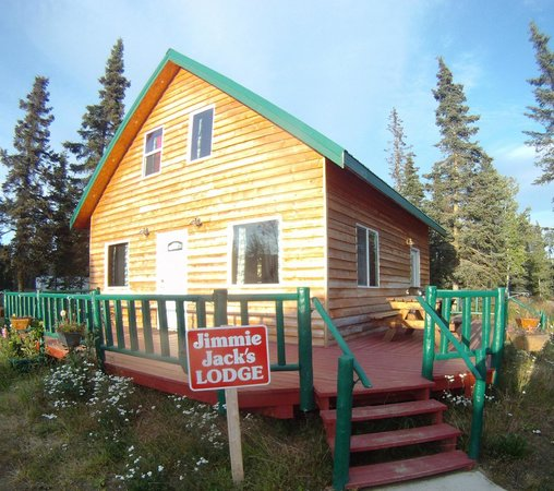 Jimmie Jack&#39;s Alaska Lodge: Jimmie Jack&#39;s Cabins