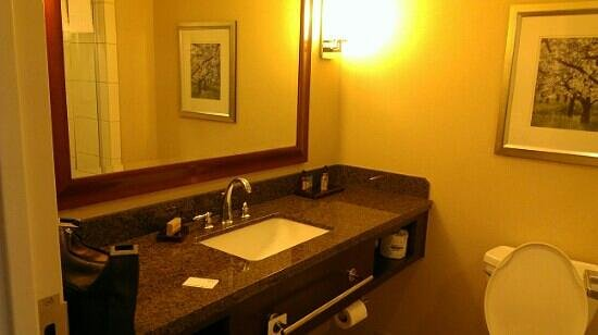 Marriott Macon City Center: sink