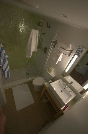 Bay Harbor Islands, FL:                   The trendy modern bathroom with a great shower!