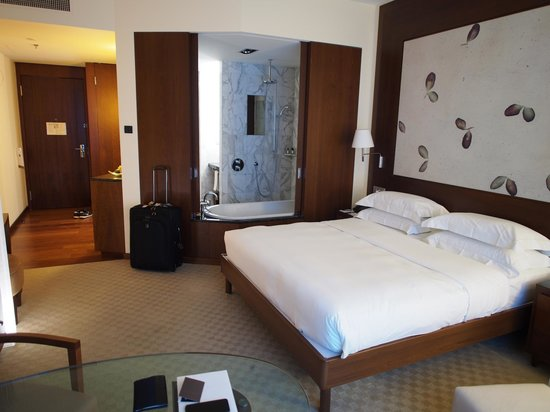 Park Hyatt Zurich:                   Standard King bed room