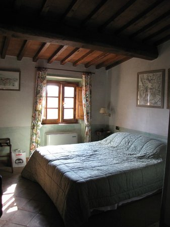 La Canonica di Cortine:                   Our room