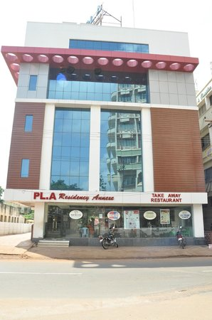 PL.A. Residency: Hotel Front View