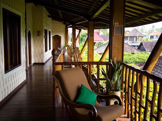 Junjungan Ubud Hotel and Spa:                   View when I get out of room