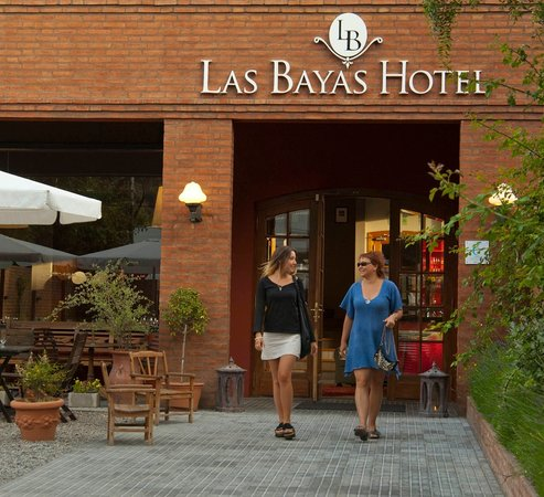 Las Bayas Hotel: Entrada