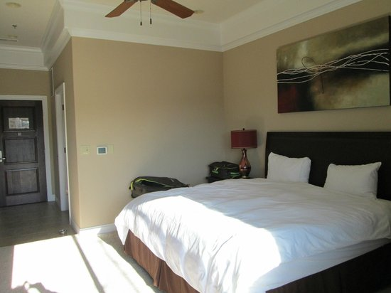 Camden on the Lake Resort, Spa, & Yacht Club:                   bed/sitting area