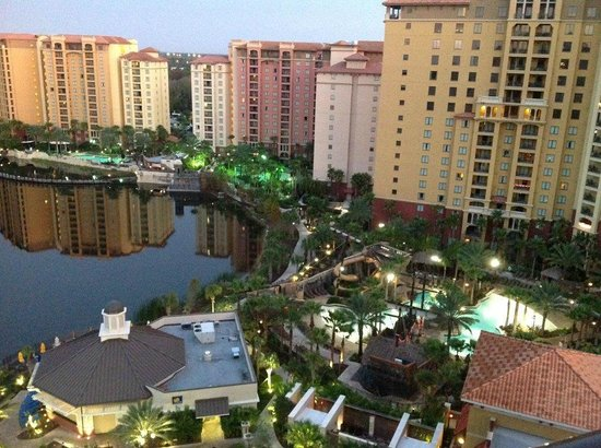 Wyndham Bonnet Creek Resort: View from our room