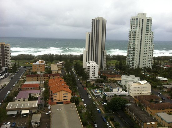 Meriton Serviced Apartments - Broadbeach:                   The amazing view