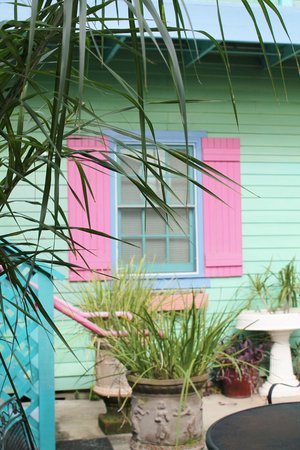 Creole Gardens Guesthouse Bed & Breakfast: Love the Shutters