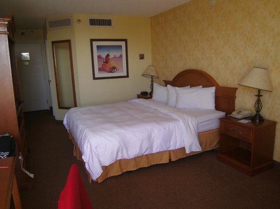 Hacienda Hotel Lax Airport:                   room