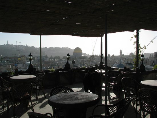 Hashimi Hotel and Hostel:                   Hashimi Rooftop terrace