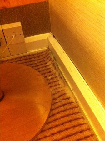 Hilton London Paddington:                   Old, torn carpets. Yikes!