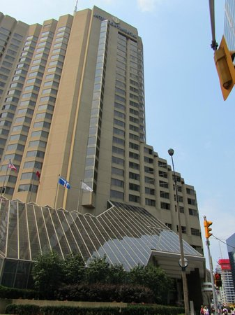 InterContinental Toronto Centre:                   外観