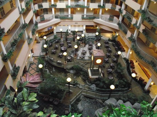 Embassy Suites by Hilton Raleigh - Durham/Research Triangle:                   Breakfast area
