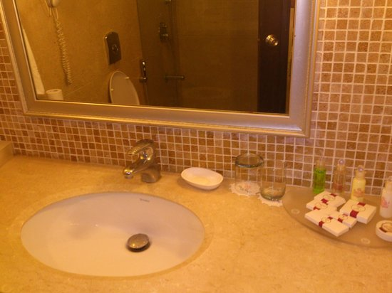 Sun-n-Sand Hotel, Mumbai:                   Bathroom