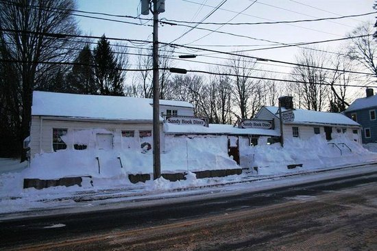 Newtown, CT:                   After Snowzilla Arrived