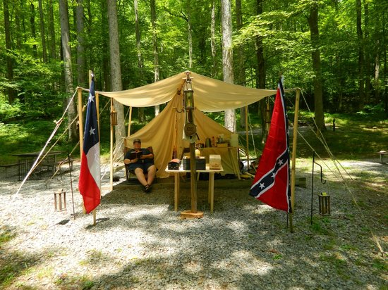 Elkmont (AL) United States  city photos gallery : Elkmont Campground: I'm enjoying a beautiful afternoon at my campsiite ...
