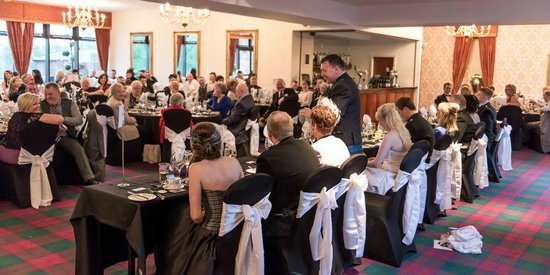 Glenbervie House Hotel:                   Wedding Breakfast
