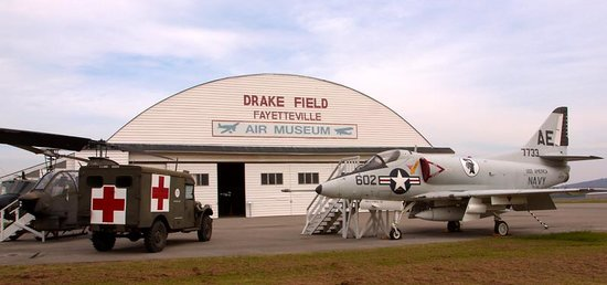 Fayetteville, AR:                   Follow the colorful history of aviation in Arkansas through numerous displays