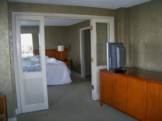 Westin Tampa Harbour Island:                   Master bedroom and sitting area