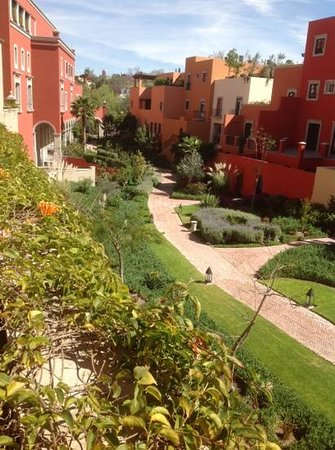 Rosewood San Miguel de Allende:                   View from balcony of room 223.