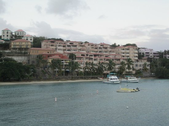 Grande Bay Resort:                   Grande Bay.  Our condo is the back building far left corner, 2nd floor from to
