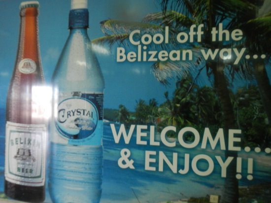 Barefoot Beach Belize:                                                       Welcome to Belize!