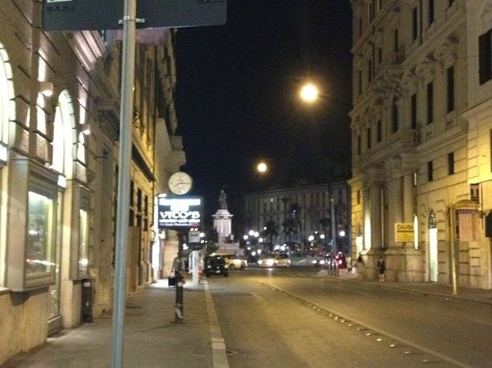 Streetview in front of Hotel Diplomatic