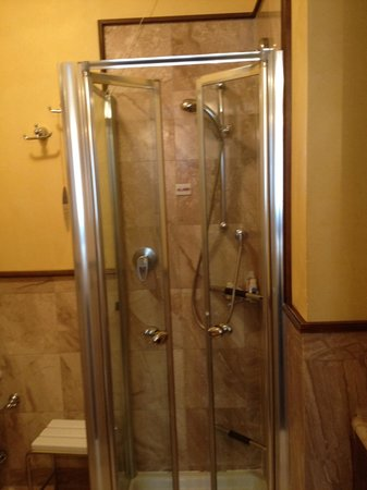 Hotel Violino d&#39;Oro:                   Shower in Room
