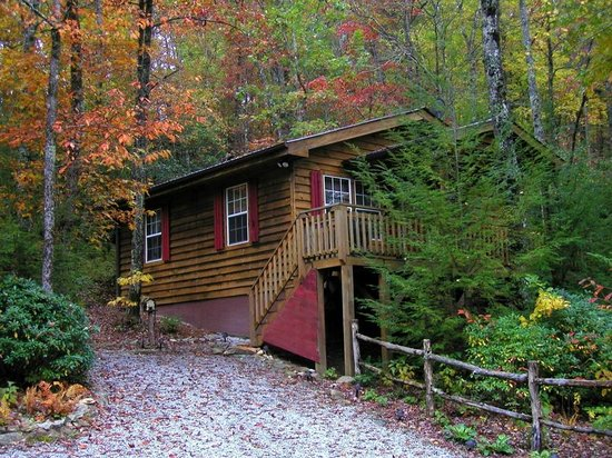 Cabins at Seven Foxes: Bear Cave (2 bedroom, 1 bath)