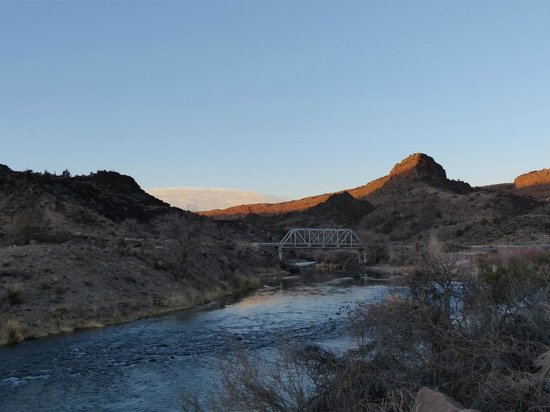 Rio Grande Gorge: Down in the gorge, by the banks of the Rio Grande