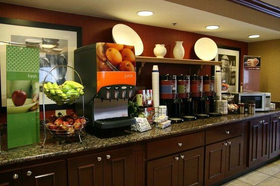 Hampton Inn Boston - Peabody: Breakfast Area