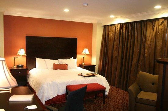Hampton Inn & Suites Stamford: Standard King Guest Room