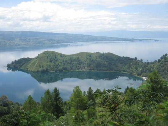 North Sumatra, : Beautiful Lake Toba