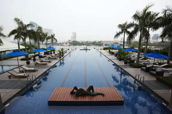 Chatrium Hotel Riverside Bangkok: Swimming Pool