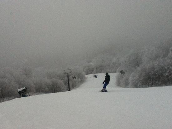Beech Mountain, NC:                   Beauty from the Oz slope