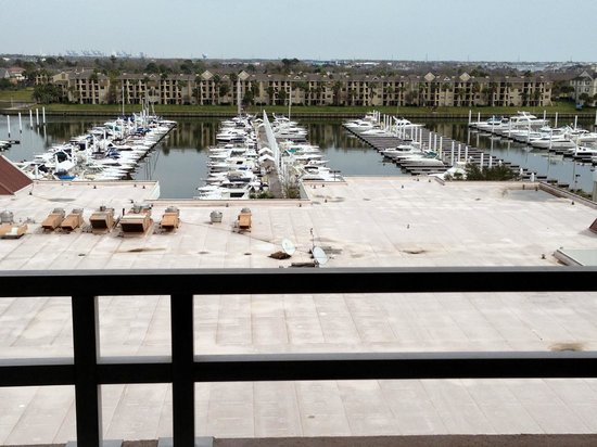 South Shore Harbor Resort and Conference Center: View From Our Room