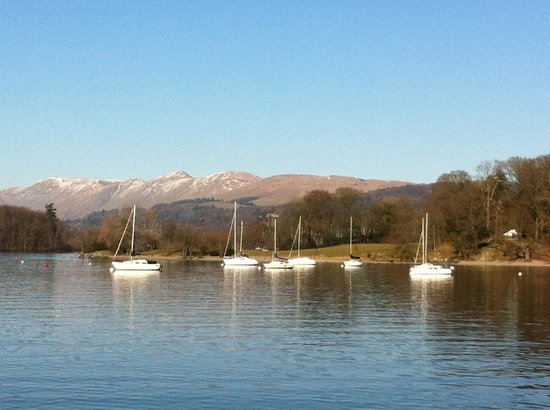 Ings, UK:                   Lake Windermere