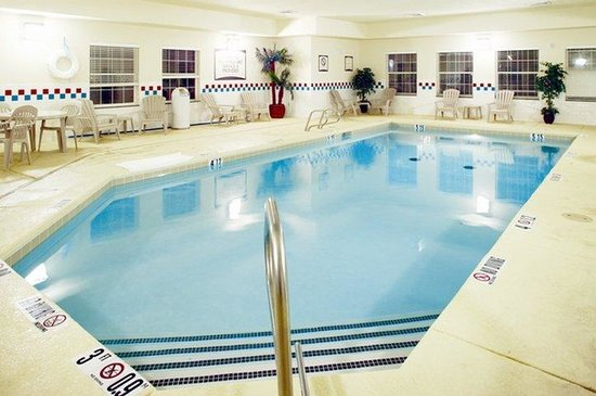 Enjoy the indoor pool at the Staybridge Suites Albuquerque North!