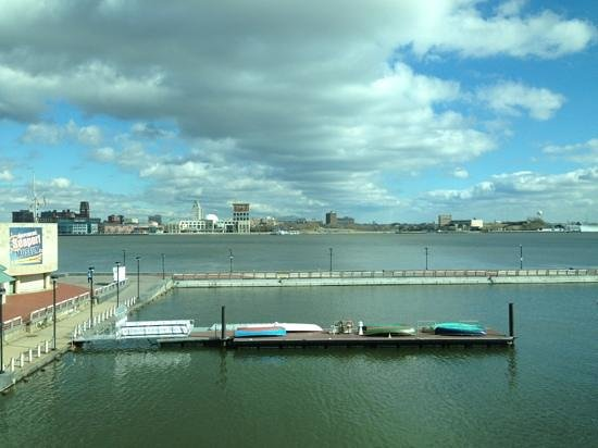Hilton Philadelphia at Penn's Landing:                   view from meeting room