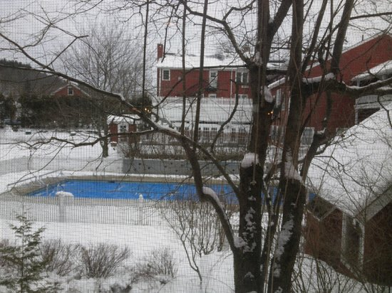 Green Mountain Inn:                   view from gym