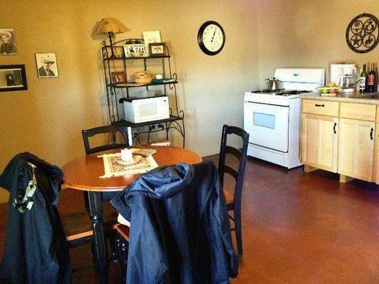 Fite Ranch Bed & Breakfast:                   The Cody Riddle Suite Kitchen