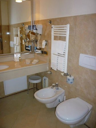 Accademia Hotel:                   Bathroom