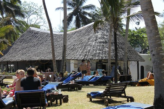 Diani Sea Lodge:                   near the pool
