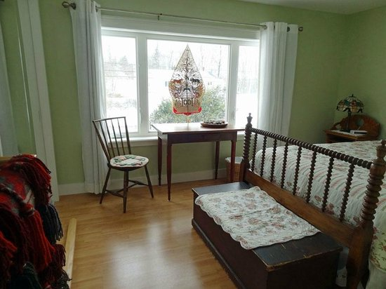 Dewars Montague Bed and Breakfast: Family suite - Double Bed