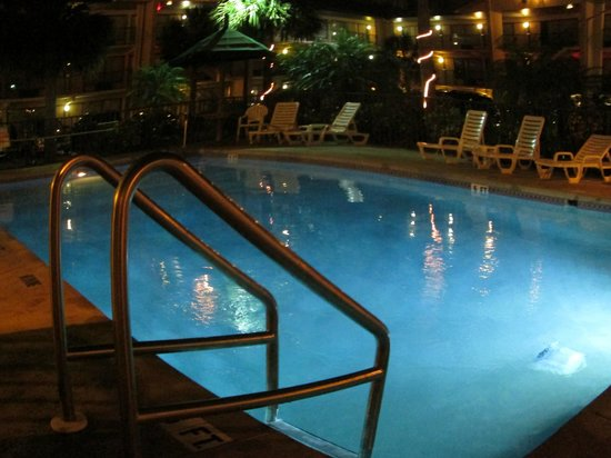 Baymont Inn & Suites Kissimmee:                   POOL AT NIGHT