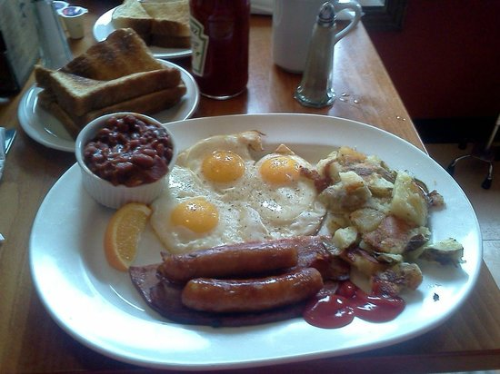 Merrickville, Kanada:                   The Hungry Man (Best Breakfast ever)