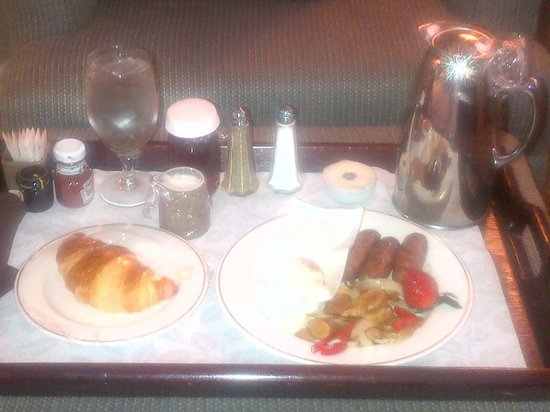 Omni Richmond: breakfast